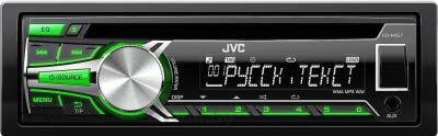 Автомагнитола JVC KD-R457EE - общий вид