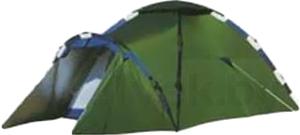 Палатка NoBrand Meran 4-местная (серо-зеленая) - общий вид