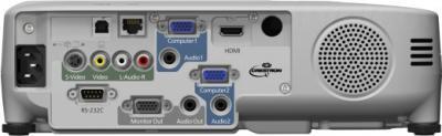 Проектор Epson EB-W22 - вид сзади