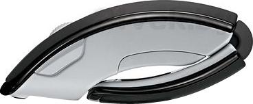 Мышь Microsoft ARC Mouse / ZJA-00065 (Black) - вид сбоку сложенный