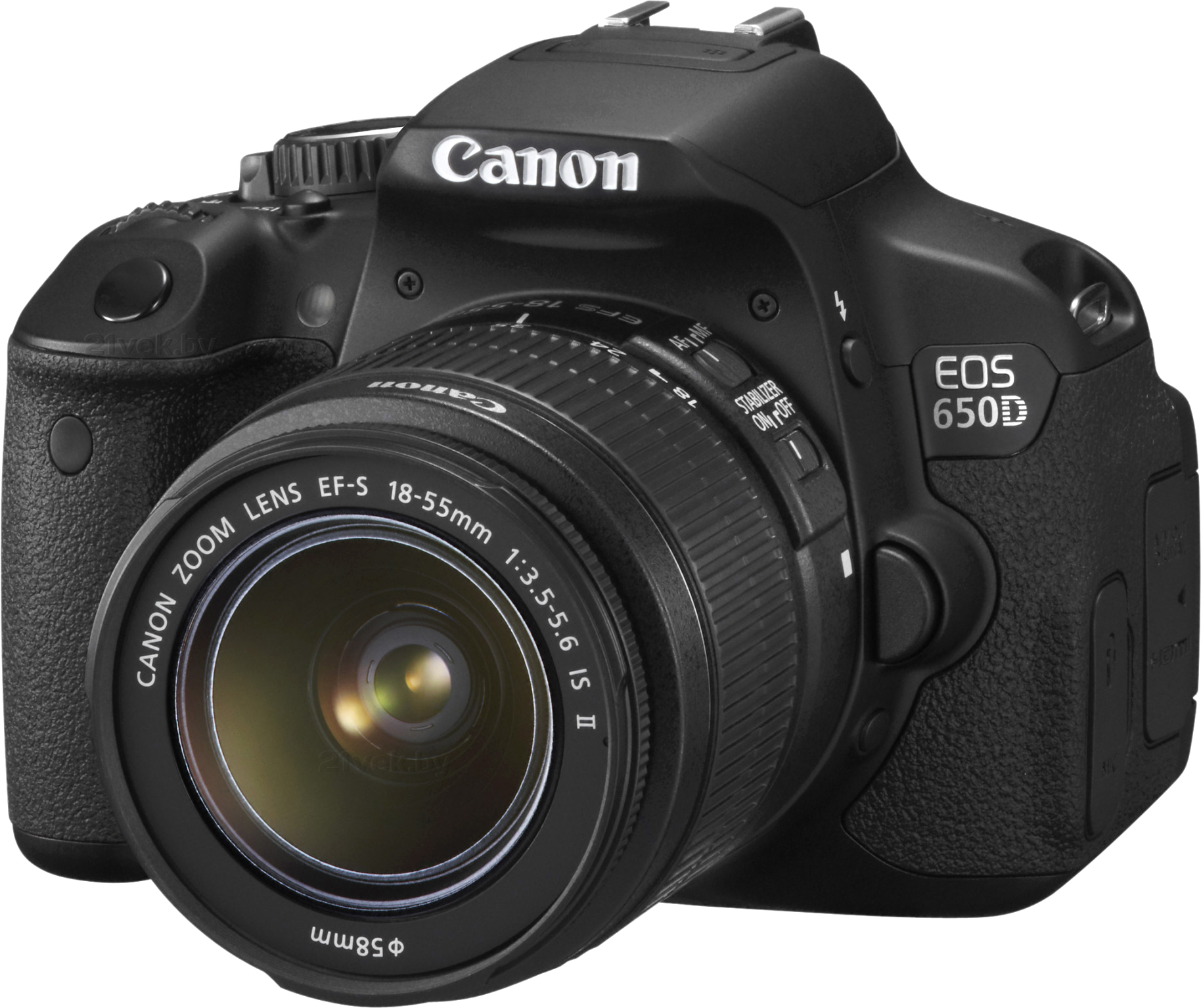 EOS 650D Triple Kit EFS18-55mm + EFS75-300mm + EF50mm 21vek.by 10969000.000
