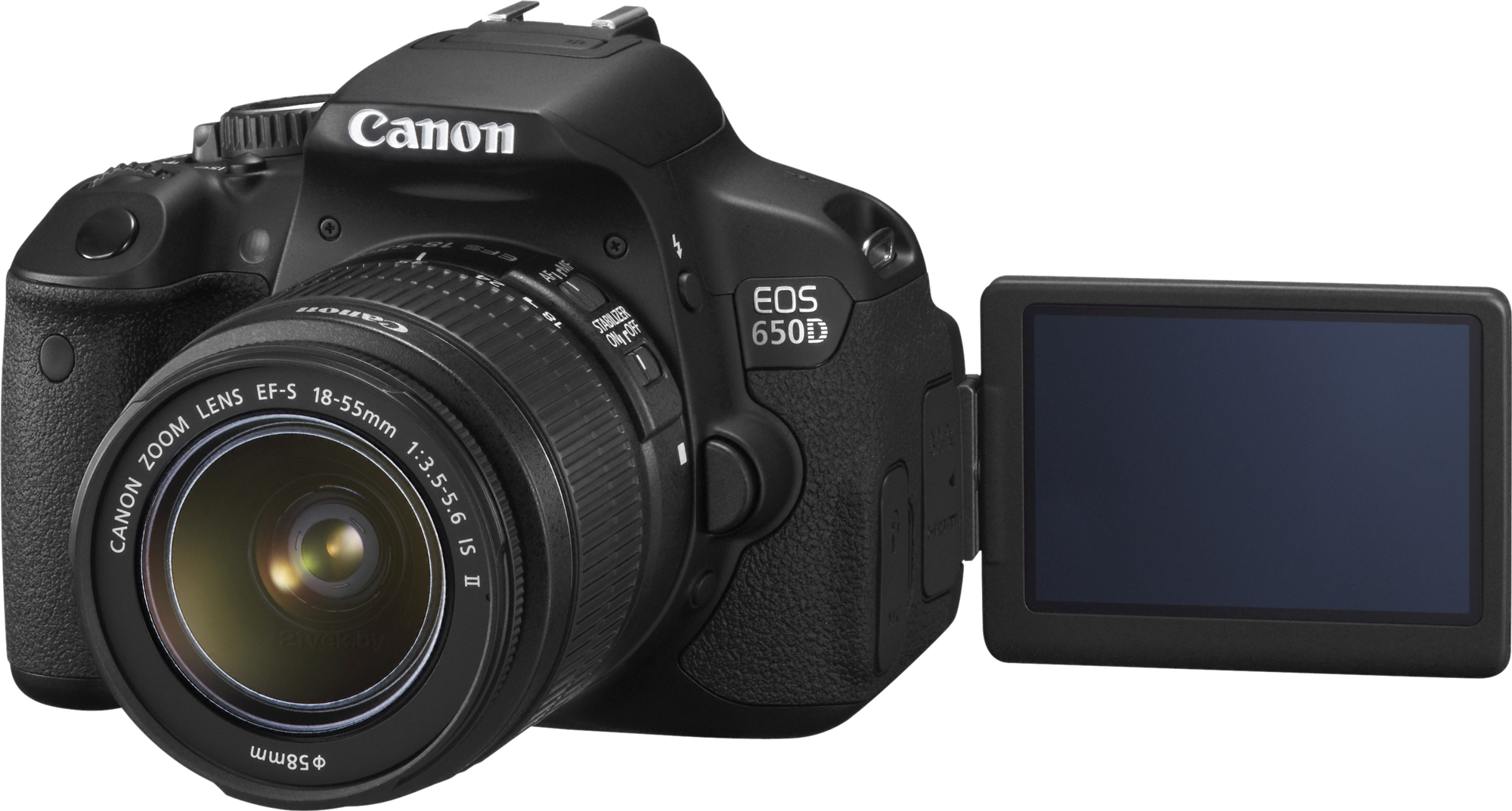 EOS 650D Triple Kit EFS18-55mm + EFS75-300mm + EF50mm 21vek.by 10969000.000