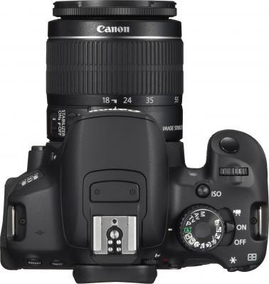 Зеркальный фотоаппарат Canon EOS 650D Triple Kit EFS18-55mm + EFS75-300mm + EF50mm - вид сверху