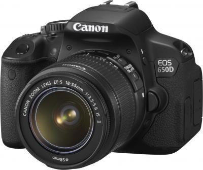 Зеркальный фотоаппарат Canon EOS 650D Triple Kit EFS18-55mm + EFS75-300mm + EF50mm - общий вид