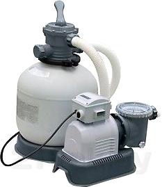 Песочный фильтр-насос для бассейна Intex 28646/56676 - общий вид