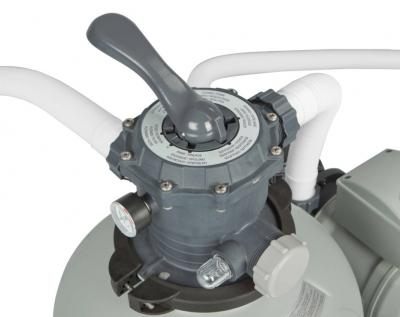 Песочный фильтр-насос для бассейна Intex 28646/56676 - элементы управления
