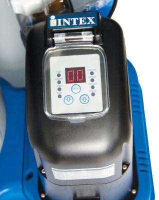 Насос для фильтрации воды Intex 28678/56678 (с хлоргенератором) - панель управления с дисплеем