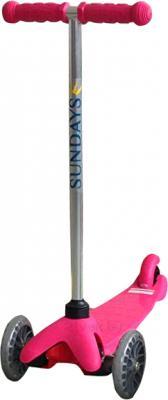 Самокат Sundays SA-100-1 (розовый) - общий вид