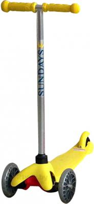 Самокат Sundays SA-100-2 (желтый) - общий вид
