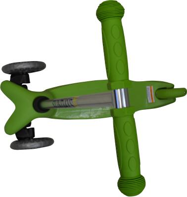 Самокат Sundays SA-100-3 (зеленый) - вид сверху