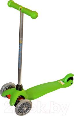 Самокат Sundays SA-100-3 (зеленый) - общий вид