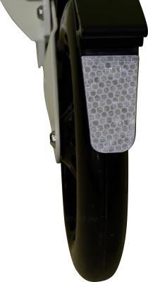 Самокат Sundays SA-401 (белый с черным) - светоотражающий элемент