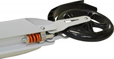 Самокат Sundays SA-401 (белый с черным) - задний амортизатор