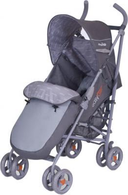 Детская прогулочная коляска EasyGo Milo (Silver) - общий вид