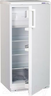 Холодильник с морозильником ATLANT МХ 2822-66 - в полуоткрытом виде