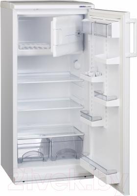 Холодильник с морозильником ATLANT МХ 2822-66 - внутренний вид