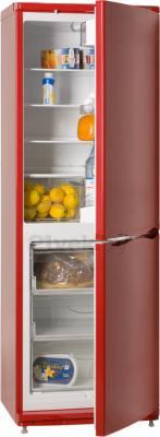 Холодильник с морозильником ATLANT ХМ 4012-130 - в полуоткрытом виде