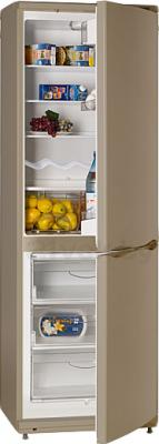 Холодильник с морозильником ATLANT ХМ 6021-050 - в полуоткрытом виде