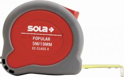 Рулетка Sola Popular (3м) - общий вид