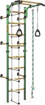 Детский спортивный комплекс Kampfer Strong Kid Wall (зеленый-желтый)