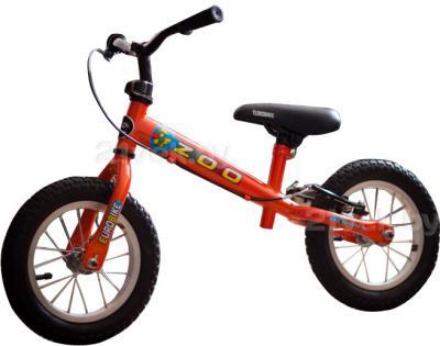 Беговел Eurobike Zoo-15 (12, красный) - общий вид