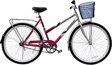 Велосипед Eurobike Voyager (28, красно-серебристый) - общий вид