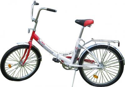 Велосипед Eurobike Rondo 24 (24, красно-белый) - общий вид