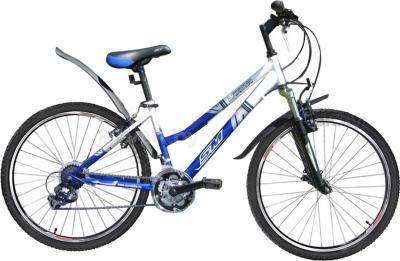 Велосипед Eurobike Dakota (26, Blue-White) - общий вид