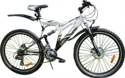 Велосипед Eurobike BooMer W5 (26, White) - общий вид
