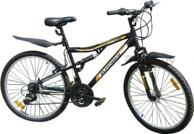 Велосипед Eurobike Jaguar (26, Black) - общий вид