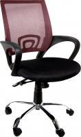 Кресло офисное Деловая обстановка Омега MFT (бордовый) -