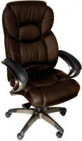 Кресло офисное Деловая обстановка Виктория STM (темно-коричневый) -