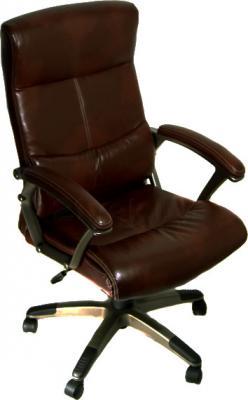 Кресло офисное Деловая обстановка Монако MFT (Dark Brown) - общий вид