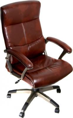 Кресло офисное Деловая обстановка Монако MFT (Brown) - общий вид