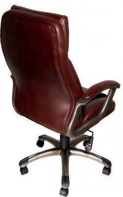 Кресло офисное Деловая обстановка Лагуна MFT (Brown) - вид сзади