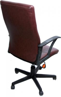 Кресло офисное Деловая обстановка Мадрид MFT (коричневый) - вид сзади
