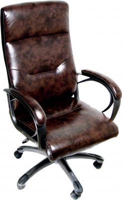 Кресло офисное Деловая обстановка Кипр MFT (коричневый) - общий вид
