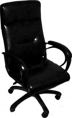 Кресло офисное Деловая обстановка Кипр MFT (черный) - общий вид