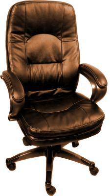 Кресло офисное Деловая обстановка Афродита STM (коричневый) - общий вид