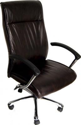 Кресло офисное Деловая обстановка Вип хром STG (Brown) - общий вид