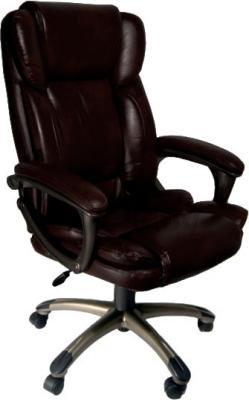 Кресло офисное Деловая обстановка Лагуна люкс MFT (Dark Brown) - общий вид