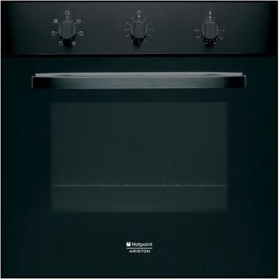 Электрический духовой шкаф Hotpoint FH 51 (BK)/HA - общий вид