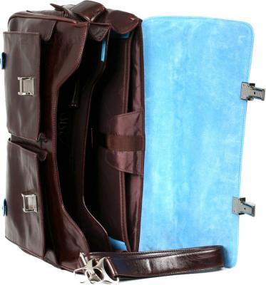 Сумка для ноутбука Piquadro Blue Square (CA1068B2/M0) - в раскрытом виде