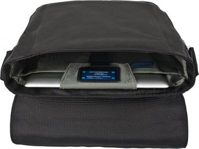 Мужская сумка Piquadro Link (CA1593LK/N) - в раскрытом виде