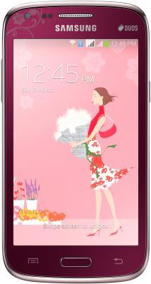 Смартфон Samsung I8262 Galaxy Core La Fleur (Red) - общий вид