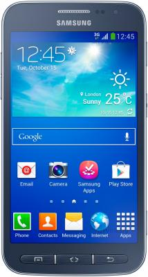 Смартфон Samsung I8580 Galaxy Core Advance (Blue) - общий вид