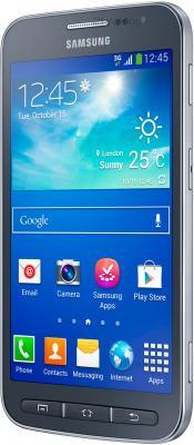 Смартфон Samsung I8580 Galaxy Core Advance (Blue) - полубоком