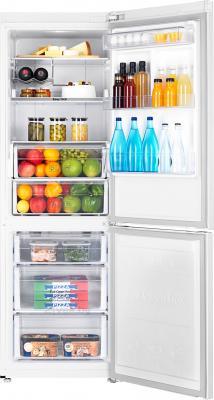 Холодильник с морозильником Samsung RB31FERMDWW/RS - камеры хранения