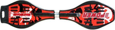 Снейкборд Power Anaconda (Red) - вид сверху