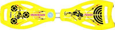 Снейкборд Power Cobra (Yellow) - вид сверху